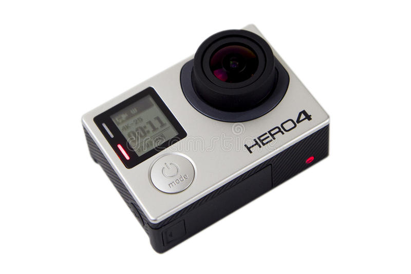 Gopro Hero4 Black Edition stock image