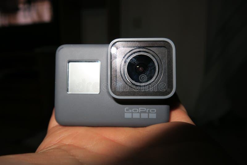 GoPro hjälte 5 fotografering för bildbyråer