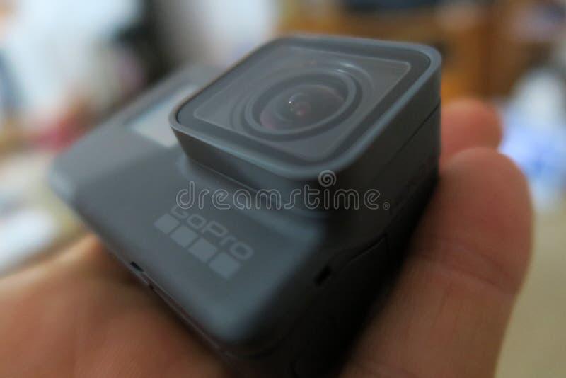 GoPro hjälte 5 arkivbild