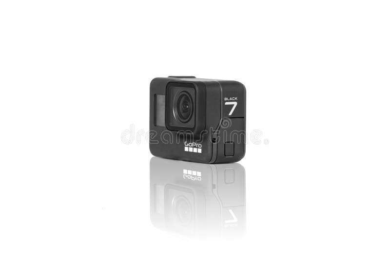 GoProheld 7 Zwart product royalty-vrije stock foto's