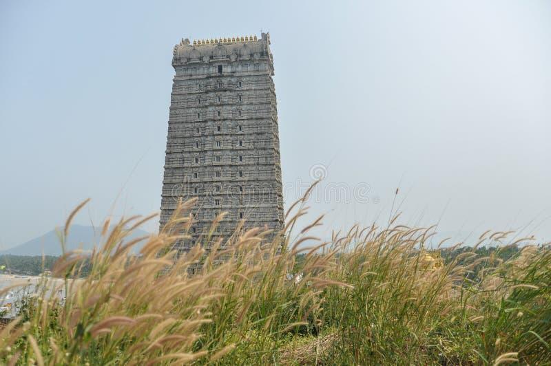 Gopura de temple de Murdeshwar en Inde image stock