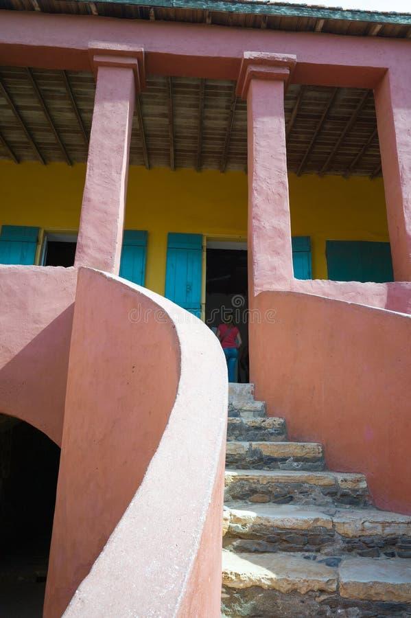 Gorèe海岛,达喀尔 免版税库存照片