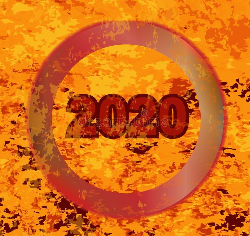 Gorący 2020 BBQ gatunek ilustracji