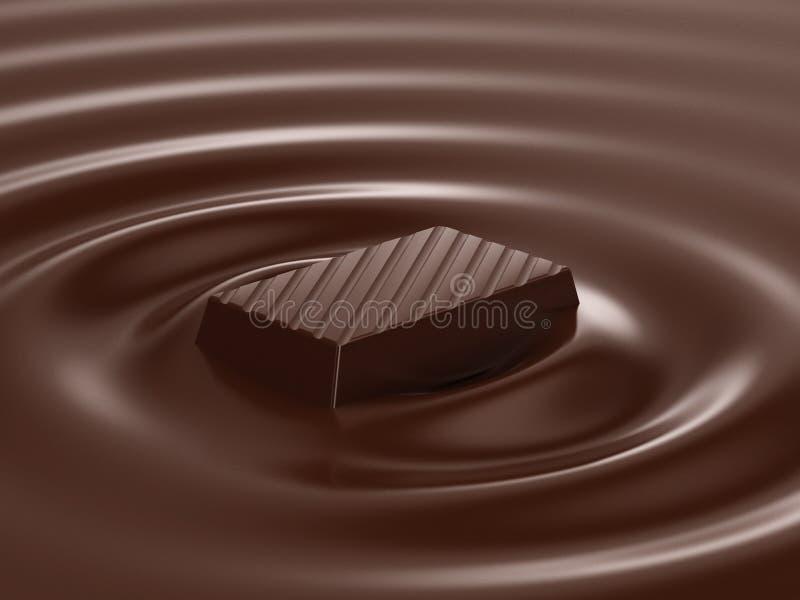 gorąca czekolada ilustracja wektor
