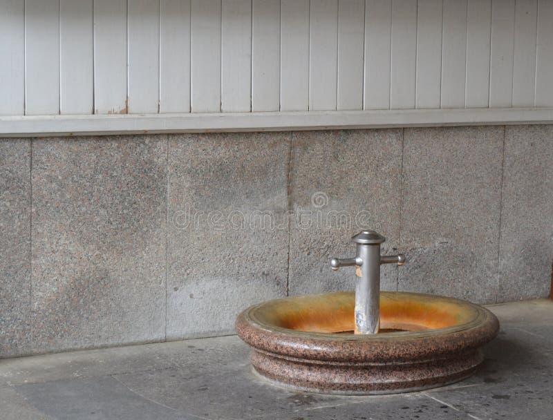 Gorąca fontanna sprężynowa obraz royalty free