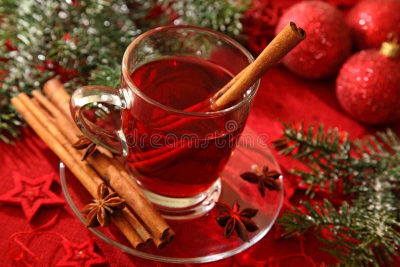 gorąca herbaciana zima zdjęcie royalty free