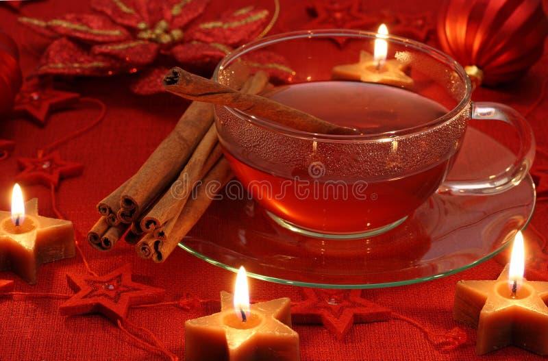 gorąca herbaciana zima zdjęcia royalty free