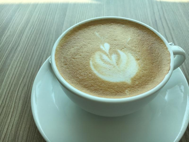 gorąca kawa obraz royalty free