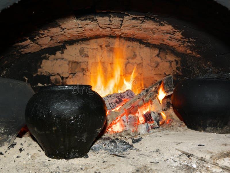 gorąca kuchenka zdjęcie royalty free