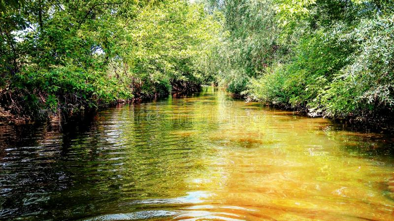 gorąca rzeki obraz stock