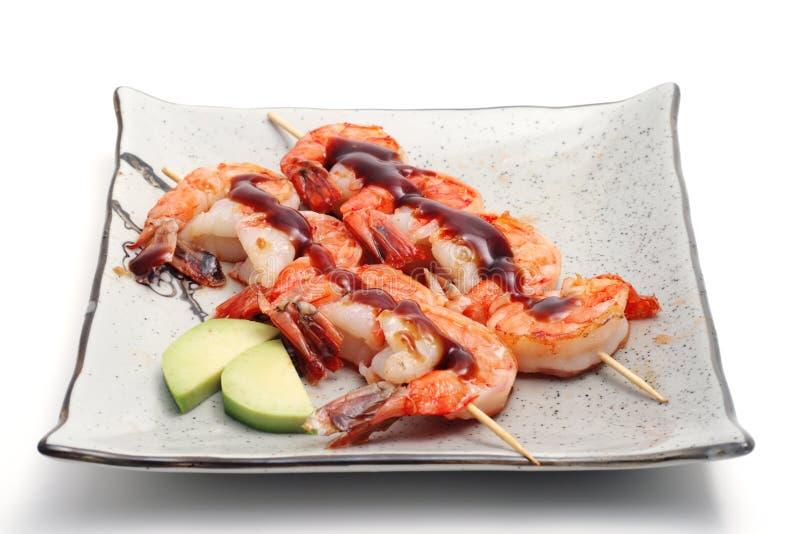 gorące jedzenie Japan płytki zdjęcie royalty free
