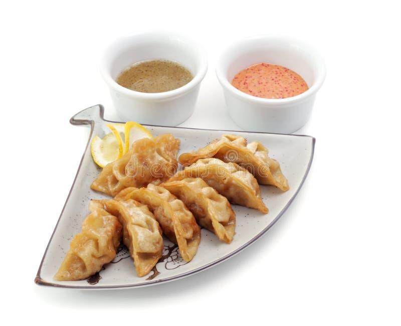 gorące jedzenie Japan płytki obrazy stock