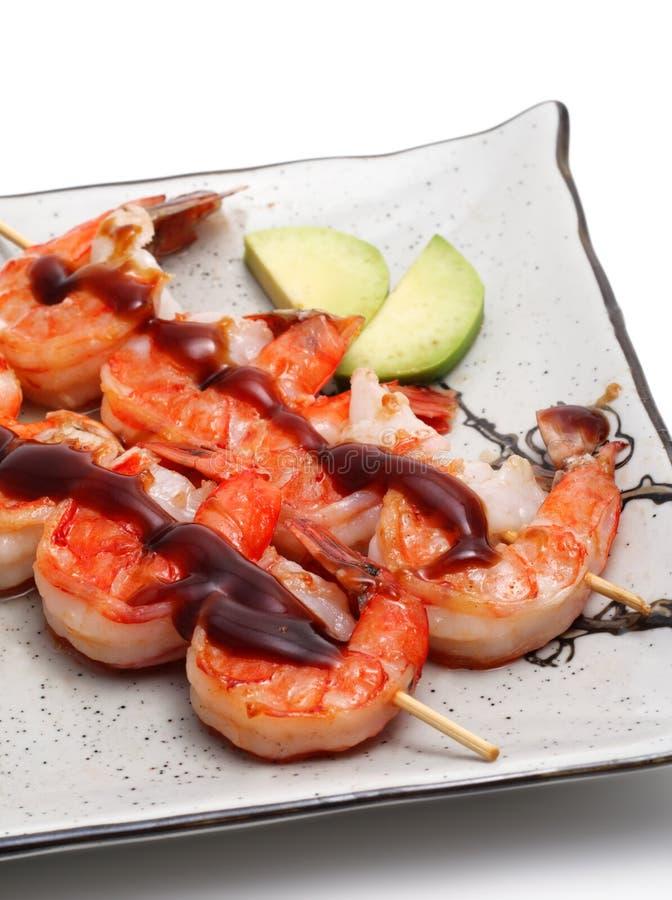 gorące jedzenie Japan płytki zdjęcie stock