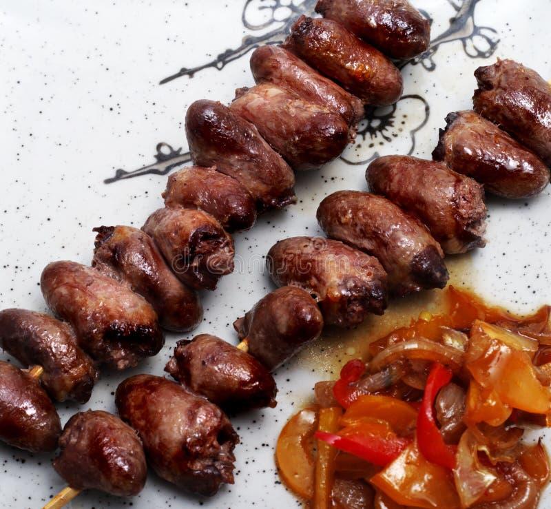 gorące jedzenie Japan płytki zdjęcia royalty free