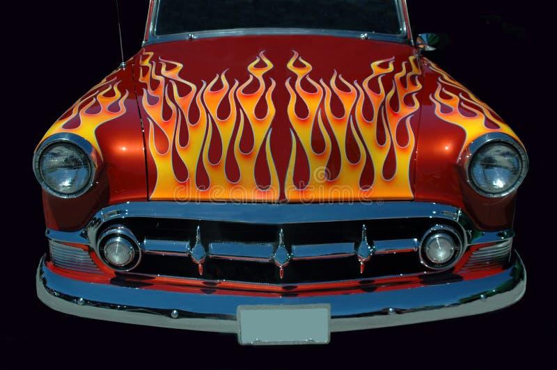 gorące płonący kij obrazy royalty free