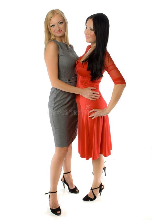 Gorące czarne lezbians
