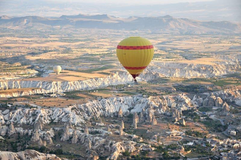 Gorące powietrze balon w indyku obrazy stock