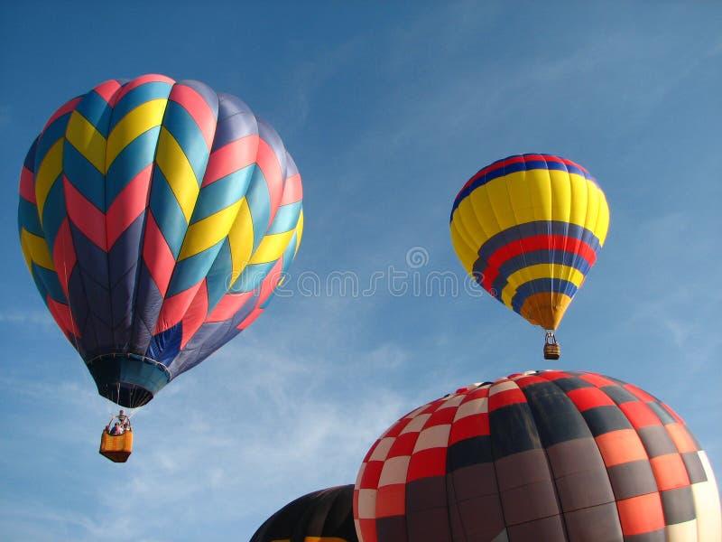gorące powietrze balony zdjęcia royalty free