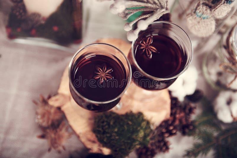 gorące wino obrazy royalty free