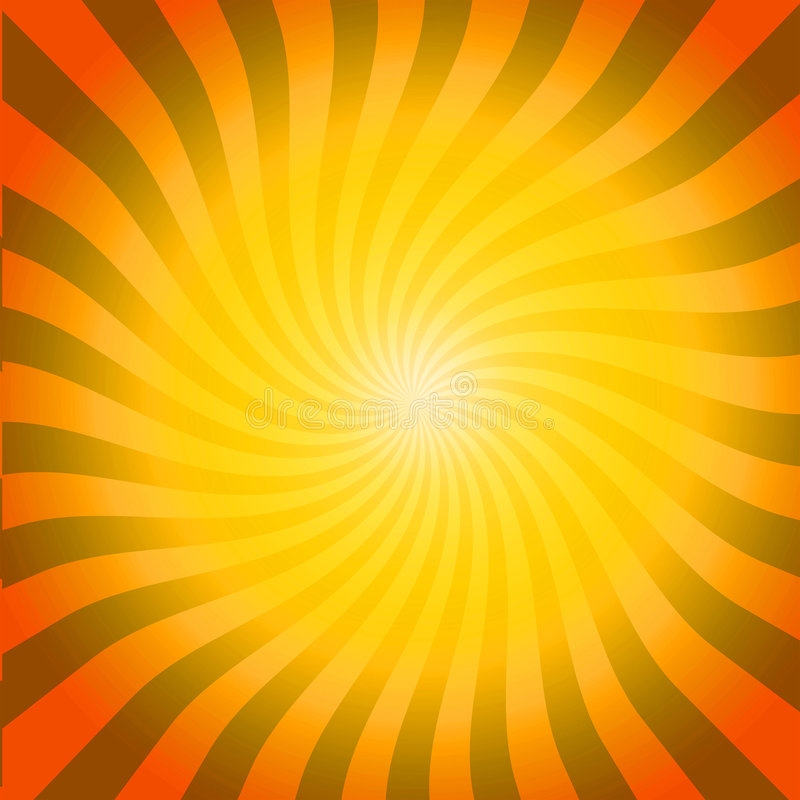 gorące wybuchu słonecznego ilustracji