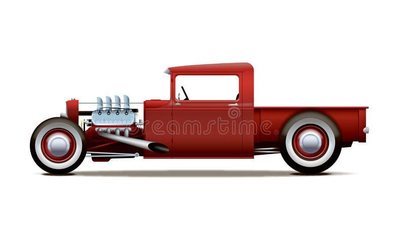 gorącego prącia ciężarówka royalty ilustracja