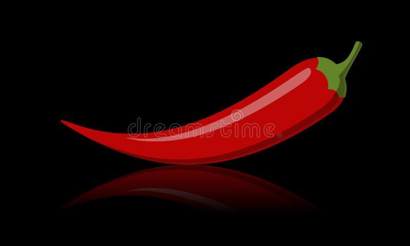 Gorący chili papper ilustracji