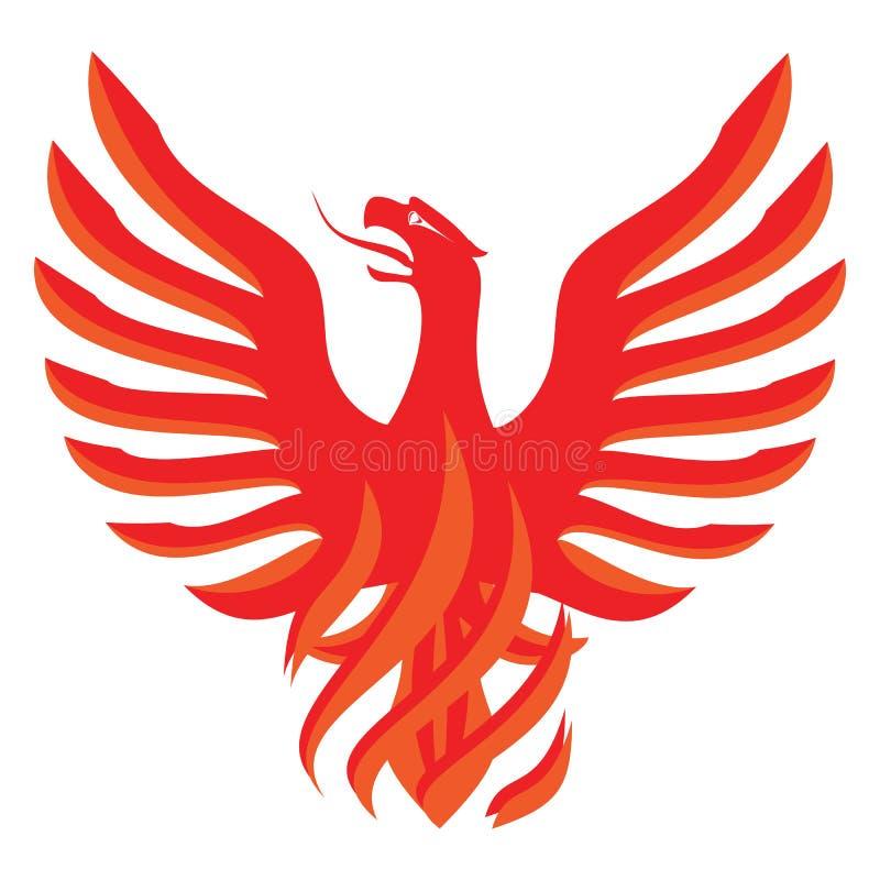 Gorący chili Phoenix royalty ilustracja