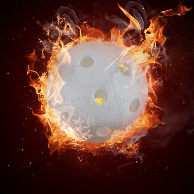 Gorący florball zdjęcia stock