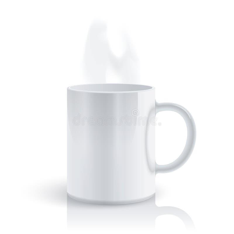 gorący kubek ilustracja wektor
