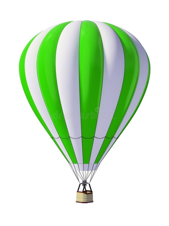 gorący lotniczy ballon ilustracji