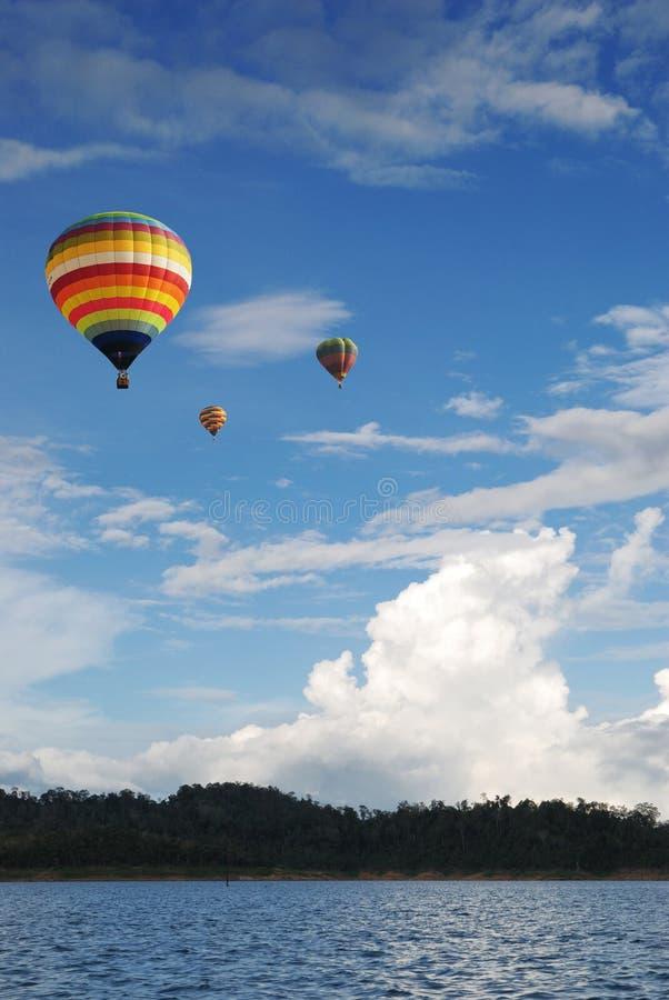 gorący lotniczy balon zdjęcie royalty free