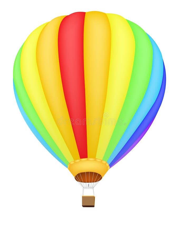gorący lotniczy balon royalty ilustracja