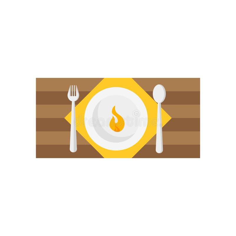 Gorący naczynie ikony wektoru znak i symbol odizolowywający na białym backgroun ilustracja wektor