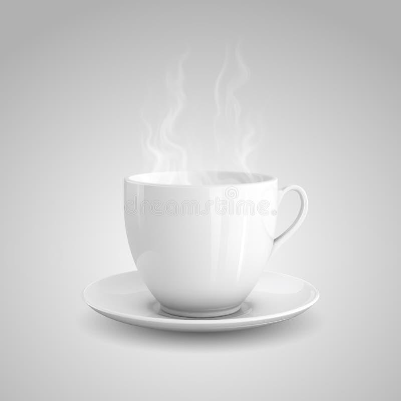 Gorący napój ilustracji