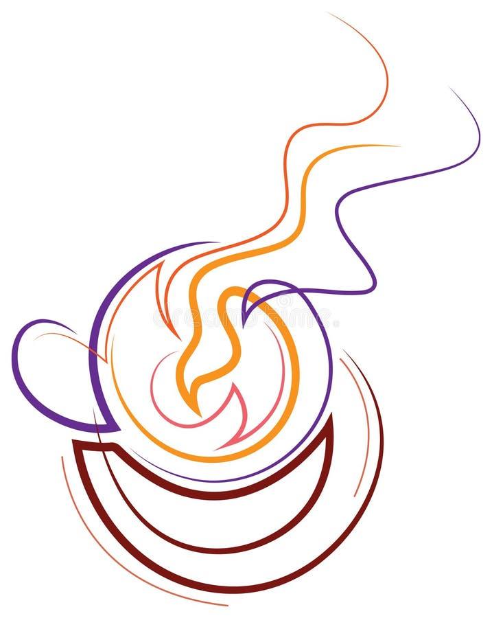 gorący napój ilustracja wektor