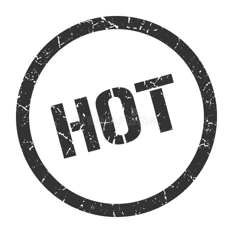 gorący pieczęć ilustracji