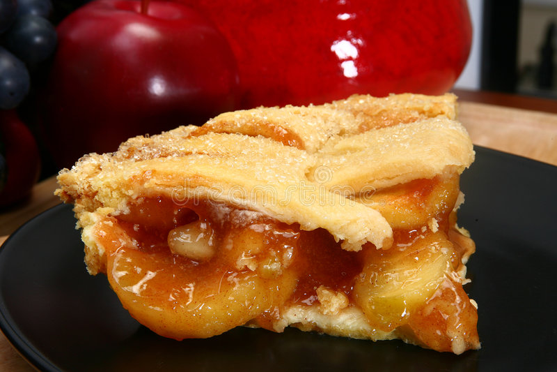 gorący placek jabłkowy zdjęcia royalty free