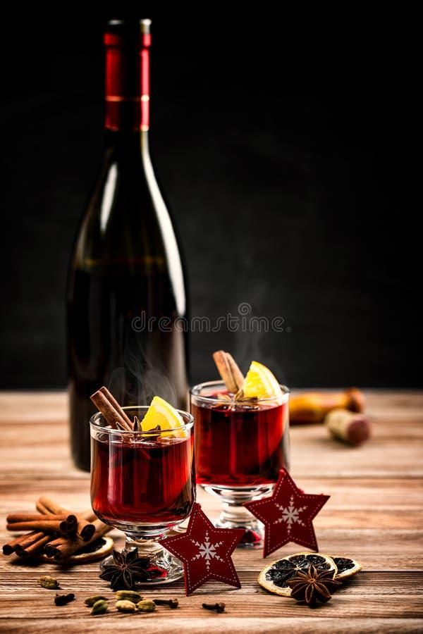 gorący rozmyślający wino obraz royalty free