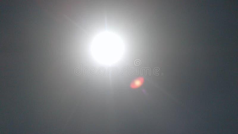 Gorący słońce przy południem obraz royalty free