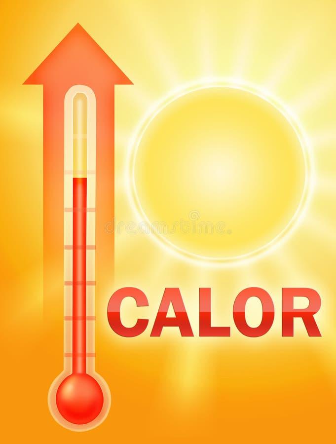 gorący spanish ilustracja wektor