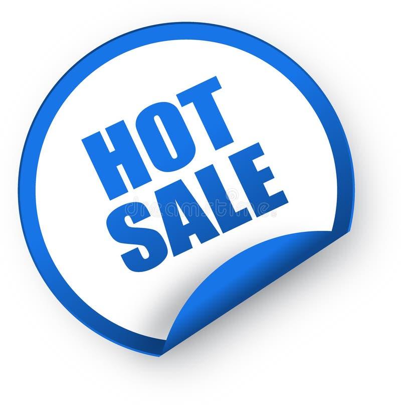 Gorący sprzedaż majcher ilustracja wektor