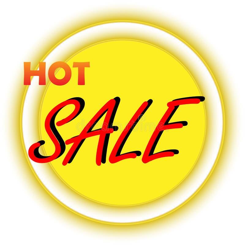 Gorący sprzedaż sztandar ilustracji
