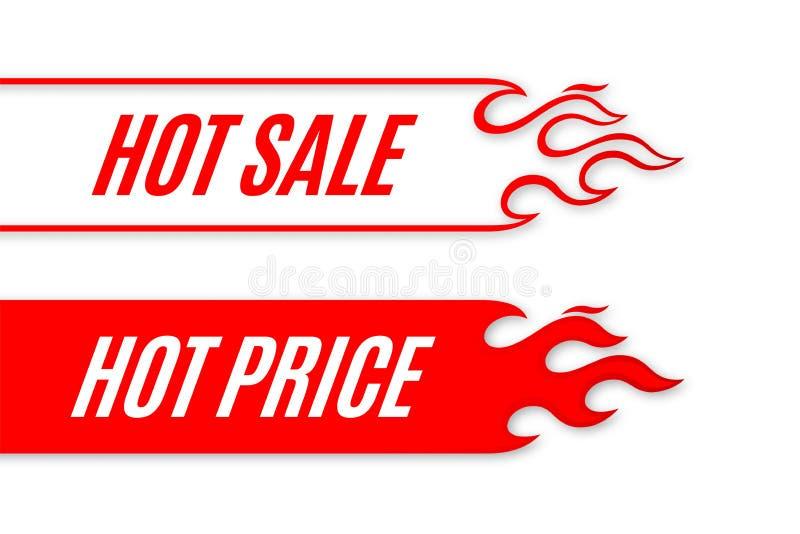 Gorący sprzedaż sztandaru ślimacznicy szablonu projekt z płomieniem ilustracji