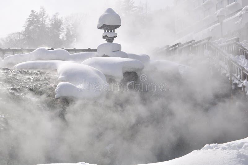 Download Gorąca Japan Kusatsu Wiosna Zdjęcie Stock - Obraz: 15865752