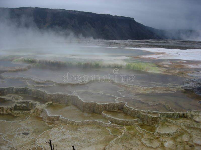 Download Gorące Mamuta Np Spring Yellowstone Zdjęcie Stock - Obraz złożonej z woda, parki: 140484