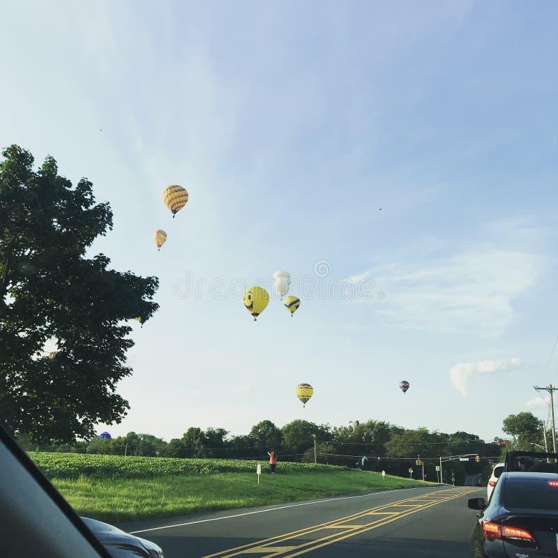 gor?ce powietrze balony obraz stock