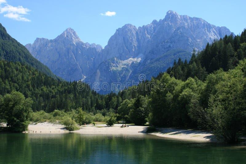 gora kranjska斯洛文尼亚 免版税库存图片