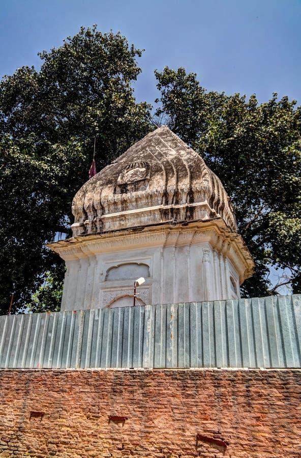 Gorakh Nath Temple in de historische plaats van Gor Khuttree, Tehsil-park Peshawar, Pakistan stock foto's