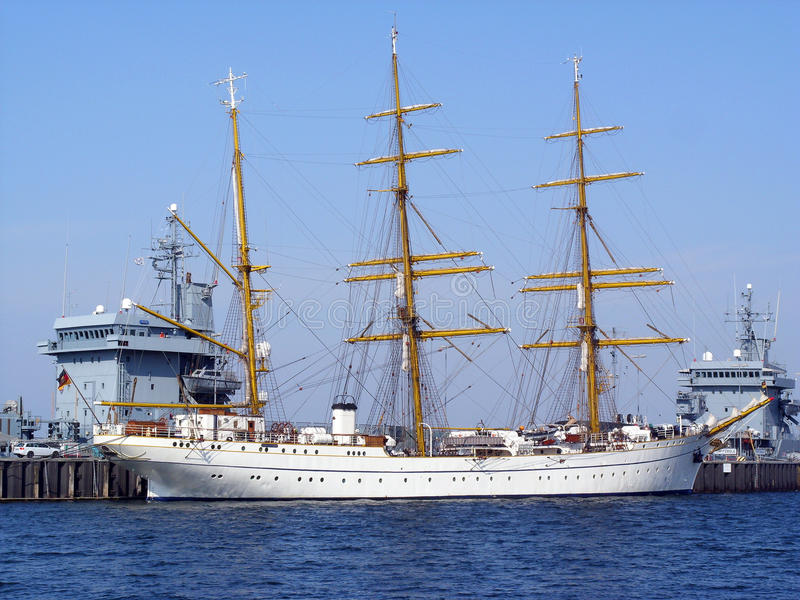 Gorch Fock royalty-vrije stock fotografie