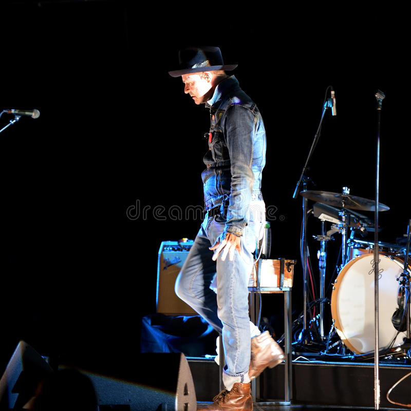 Free Gord Downie Performs Secret Path Royalty Free Stock Image - 79024636